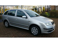 *50+MPG* SKODA FABIA AMBIENTE DIESEL ESTATE 1.4 TDI 80 - CLEAN EXAMPLE / 2 KEYS