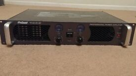 Prosound 1000 PA system - amp, speakers, stands, leads plus extras