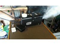 Fog machine, smoke machine