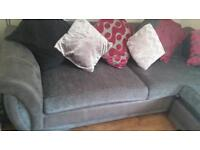Dfs two 4 seatter sofas