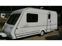 2000 compass rallye GTE 2 berth end bathroom with awning v g c