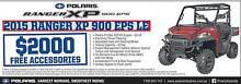 Polaris Ranger XP 900 EPS LE Fulham West Torrens Area Preview