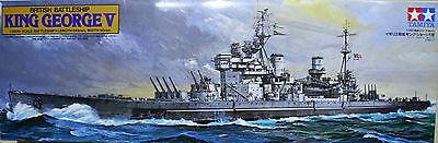 King George V british battleship art. 78010 Tamiya 1/350