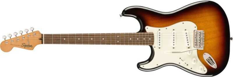 Squier Classic Vibe '60s Stratocaster Left-Handed 3-Tone Sunburst