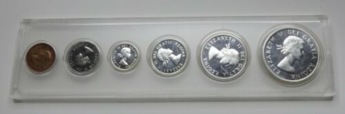 1960 Canada Silver 6-Coin Proof-Like Set - Whitman Holder