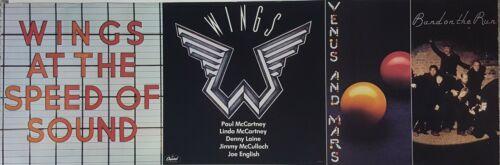 PAUL McCartney & WINGS -  Speed Of Sound Orig Promo banner Poster MINT! BEATLES