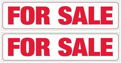 Corrugated Real Estate Sign Riders 2 Pack 6 X 24 Includes 4 - 8 Sign Stakes