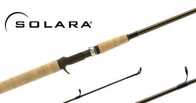 7c95d361f46 2 NEW SHIMANO SOLARA CASTING FISHING RODS 6' MED SLC60M2
