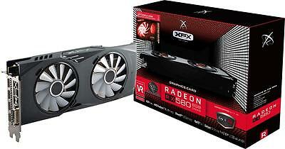 XFX - AMD Radeon RX 580 8GB GDDR5 PCI Express 3.0 Graphics Card - Black/crimson