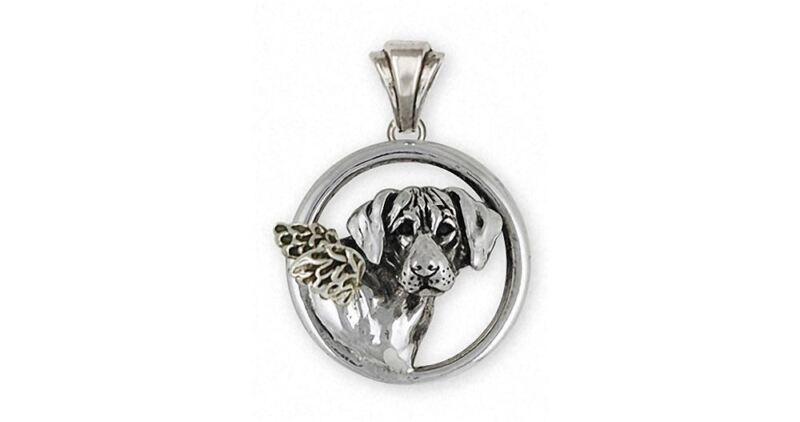 Rhodesian Ridgeback Angel Pendant Jewelry Sterling Silver Handmade Dog Pendant R