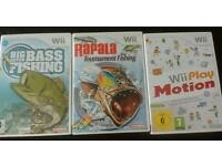 Wii games and accessories bundle