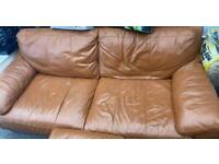 Large Leather sofa