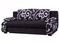 Brand New Sofa Bed. Comes In Fabric Or Faux Leather. 2 To 3 Weeks For Delivery
