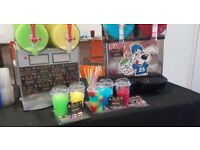 Slush Machine, Candy Floss Machine, Popcorn Machine, Waffle Machine, Mascots & many more