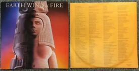 """Earth Wind Fire - 12"""" LP - With Printed Pics"""