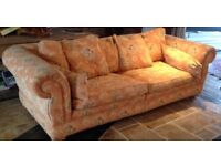 Two large duresta ?? Sofas