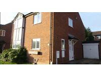 2-BED SEMI-DETACHED HOUSE ON QUIET ROAD; Garage & Parking, Garden, Central Heating, Double Glazing