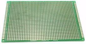 NEW Double Sided 8x12cm Universal Breadboard PCB Prototype Glass Fibre