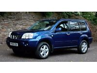 2005 Nissan X-Trail SVE 2.2DCI, TOP OF THE RANGE, HEATED LEATHER, SAT NAV, CRUISE, 12 MONTHS MOT