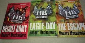 3 Henderson's boys books