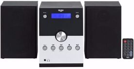 2 months old Bush DAB/FM/CD player/Aux in/Bluetooth micro system-Repairs/spares