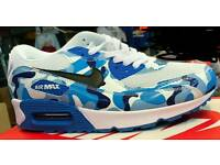 Blue Camouflage Air max trainer