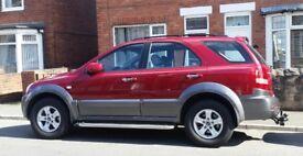 Kia Sorento CRDi Automatic Diesel Estate. 2.5.ltr. 2004.  £2,225