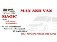 Man and Van. MAGIC. INBOX ME!