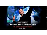 Tony Robbins UPW London 19-22 April 2018