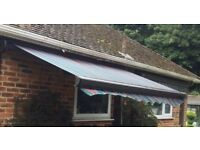 COMMERCIAL QUALITY FULL CASSETTE AWNING EX-DISPLAY 3 METRES ORIGINAL PRICE £1150 ONLY £295