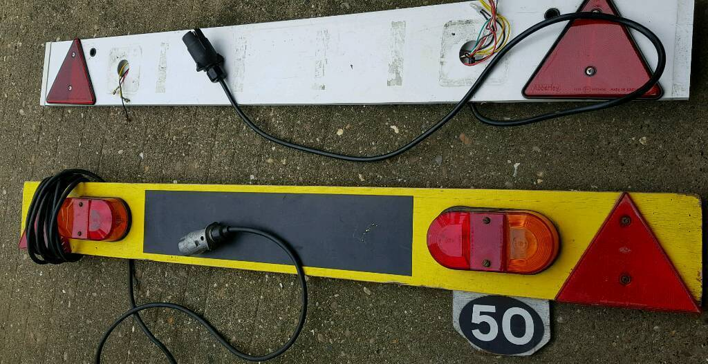 Trailer tail boards
