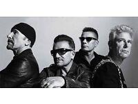 Looking 1x U2 standing ticket croke park 22nd July 2017