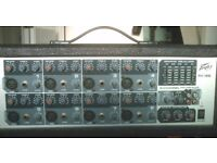 Peavey PVI88, 8 channel powered mixer amp,