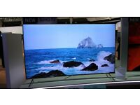 "SAMSUNG UE55JU6510 Smart 4k Ultra HD HDR 55"" Curved LED TV WHITE"