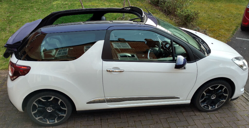 citroen ds3 cabrio 1 6 e hdi airdream dstyle plus cabriolet 2dr in swindon wiltshire gumtree. Black Bedroom Furniture Sets. Home Design Ideas
