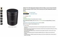 ZEALOT S15 Mini Bluetooth Speakers