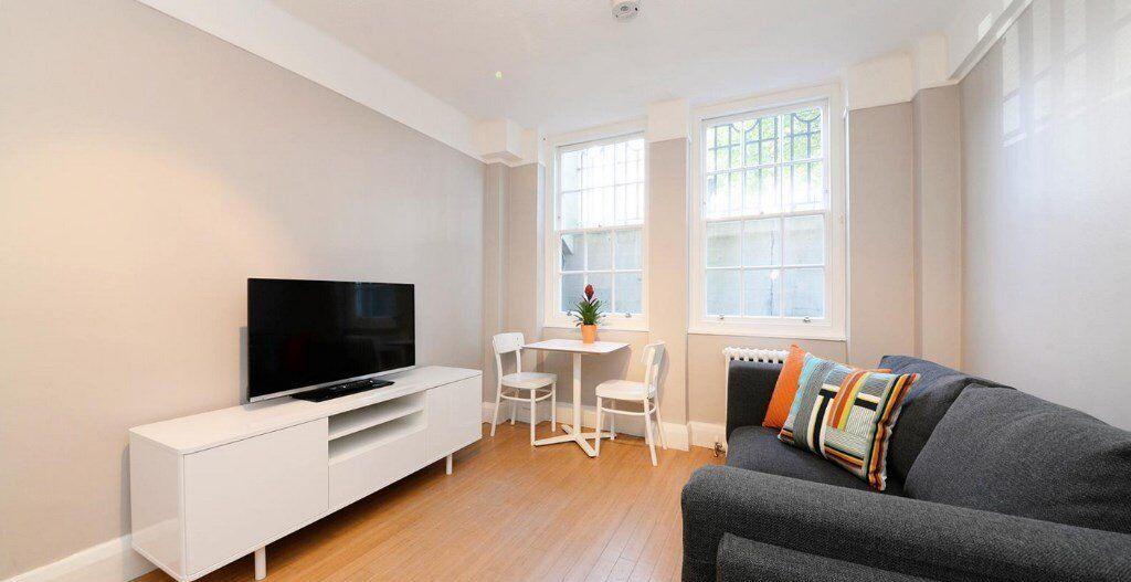 Modern studio apartment in Marylebone