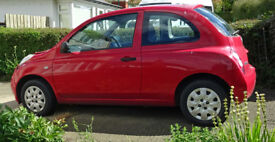 Nissan Micra sold for parts/scrap.