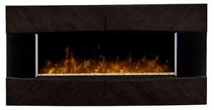 NEW Dimplex Waltz 36 inch Wall Mount Electric Fireplace in Espresso (DWF36G-1482E)
