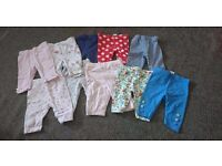 First size baby girls clothes bundle
