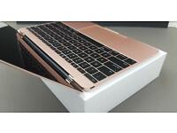 2016 Rose Gold MacBook (Purchased Jan 2017)
