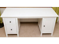 IKEA Desk HEMNES – Colour White Stain - Excellent Condition