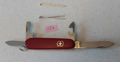Used Victorinox Swiss Army Knife Recruit