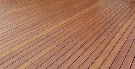 Solid Timber Decking Blackbutt $1.92 lm or $ 30.00 m2