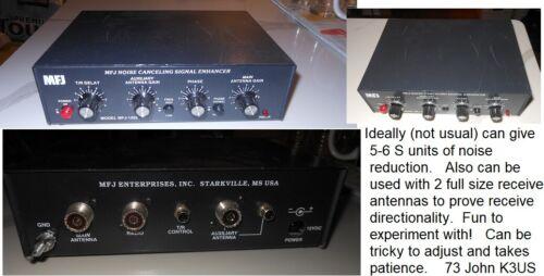 MFJ-1025 Noise Cancelling Unit