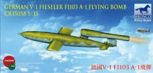 Bronco 1/35 35058 V-1 Fieseler Fi 103 A-1 Flying Bomb