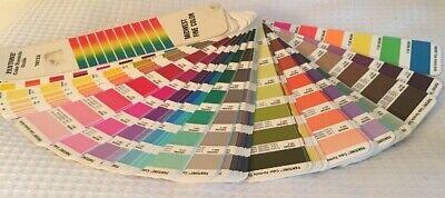 Pantone Color Formula Guide 747xr Midwest Fine Color Vintage 1988-89 4th Pr Usa