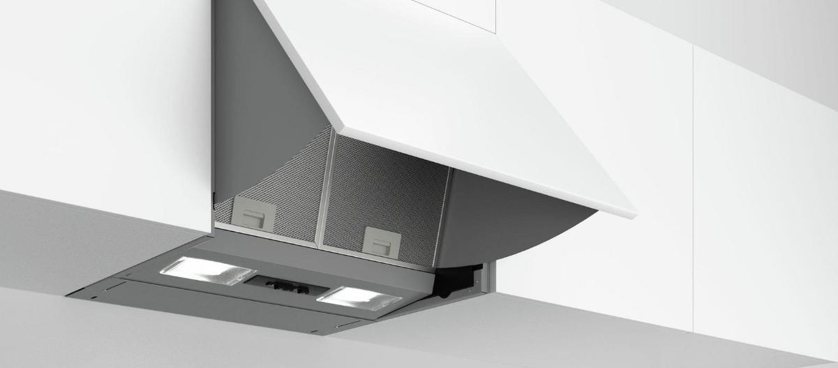 Bosch DEM63AC00 Dunstabzugshaube Zwischenbauhaube 59,9 cm Küchen Haube Lüftung