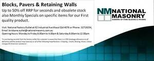 Concrete Blocks, Pavers & Retaining Walls Wacol Brisbane South West Preview