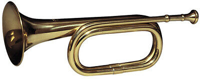 Retro Brass Army Military Cavalry Copper Trumpet Bugle Musical Instruments & Gear Alto Horns
